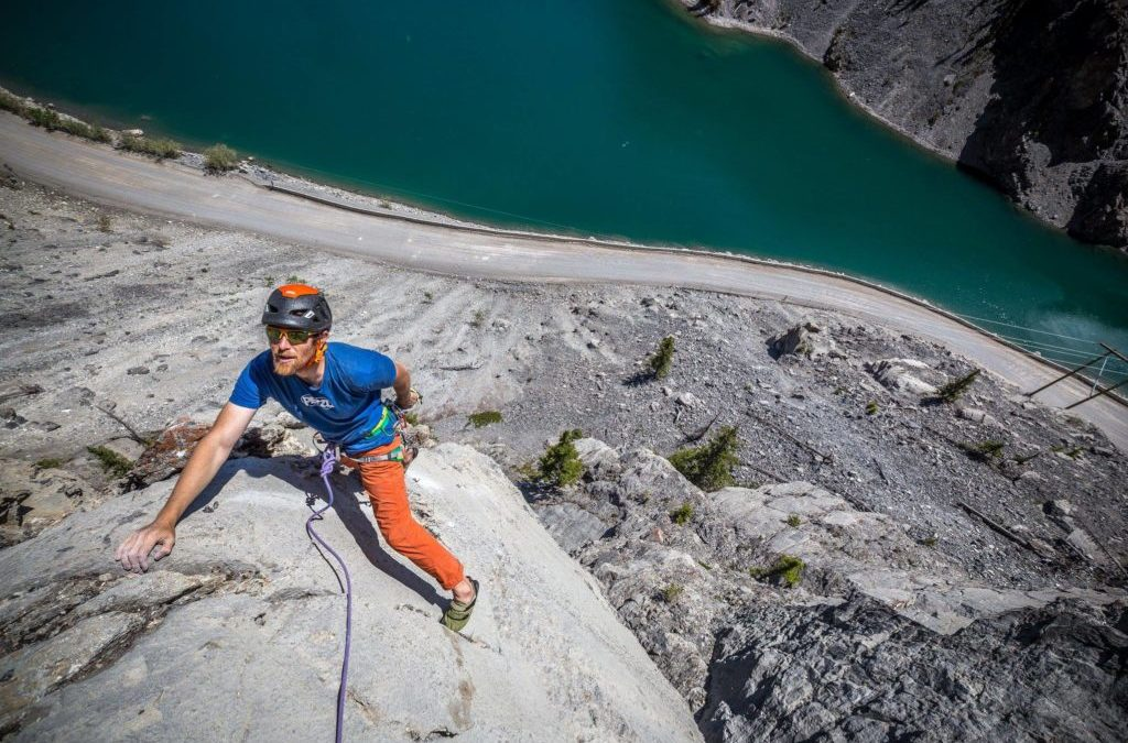Godzilla is New Four-Pitch 5.9 Close to Canmore